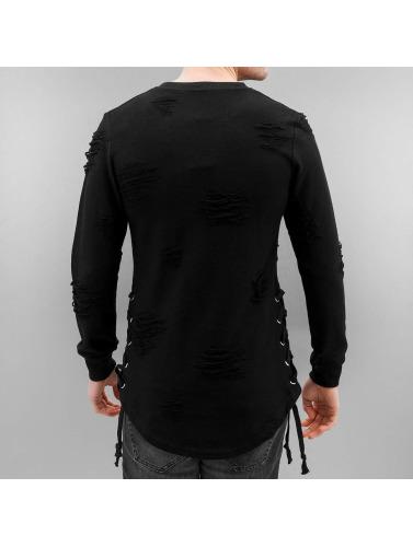 Paris Premium Jersey Destroyed in negro