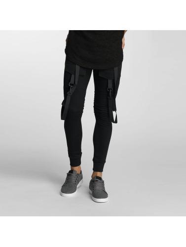 Paris Premium Jogginghose Cords in schwarz