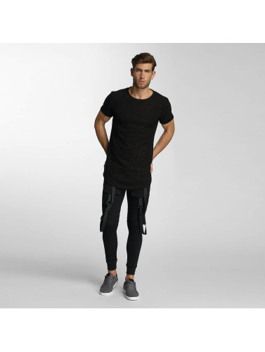 Paris Premium Jogginghose Cords in schwarz
