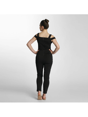 Paris Premium Ladies Jumpsuit In Black Cocktail