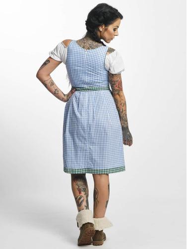 Paris Premium Damen Kleid Traditional II in blau