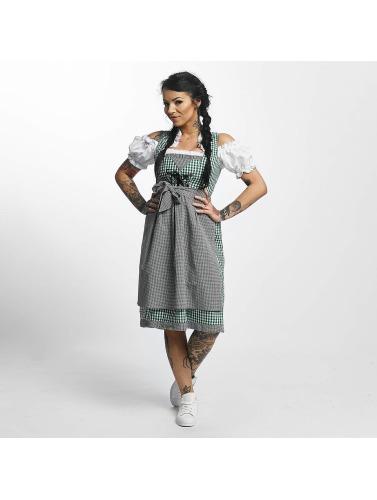 Paris Premium Damen Kleid Traditional in grün