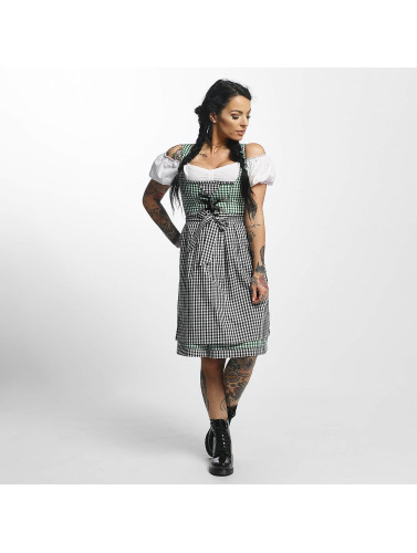 Paris Premium Damen Kleid Traditional II in grün