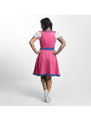 Paris Premium Damen Kleid Funny in pink