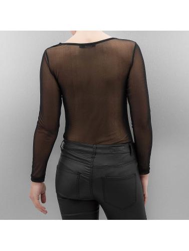 Paris Premium Damen Longsleeve Priska in schwarz