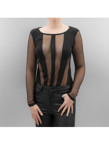 Paris Premium Damen Longsleeve Xenia in schwarz