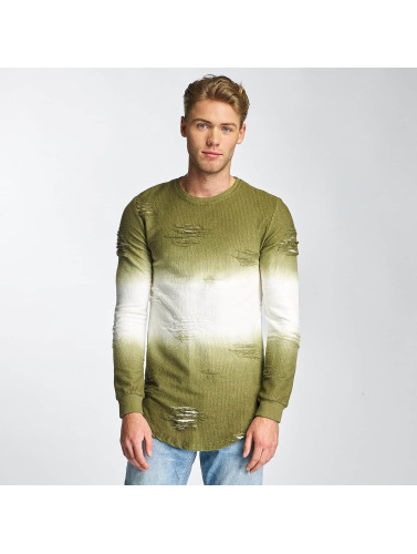 Paris Premium Pullover Two Tone in grün