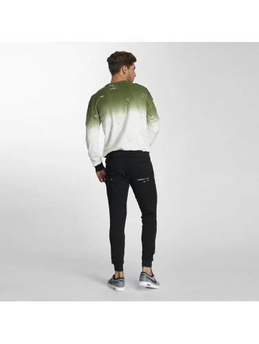 Paris Premium Pullover Two Tone in grün