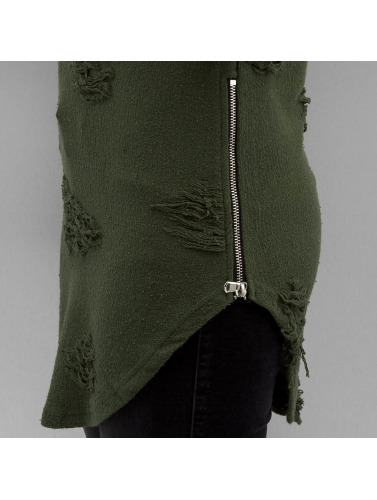Paris Premium Pullover Used in olive
