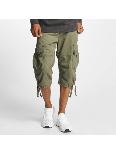Paris Premium Herren Shorts Cargo in olive