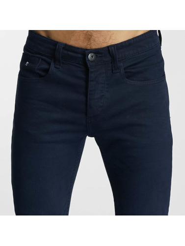 Paris Premium Herren Slim Fit Jeans Moon in blau