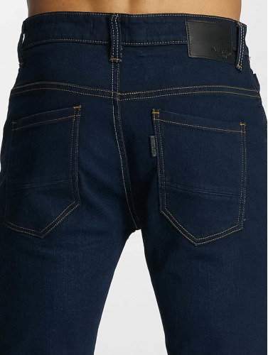 Paris Premium Herren Straight Fit Jeans Till in blau