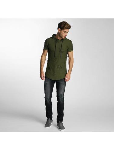 Paris Premium Herren Straight Fit Jeans Used in schwarz