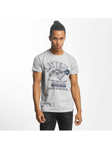 Paris Premium Herren T-Shirt Listen! in grau