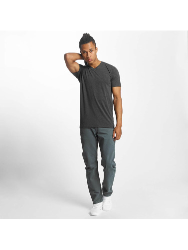 Paris Premium Herren T-Shirt Basic in grau
