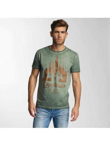 Paris Premium Herren T-Shirt Copenhagen in grün
