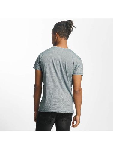 Paris Premium Herren T-Shirt Stripe in türkis