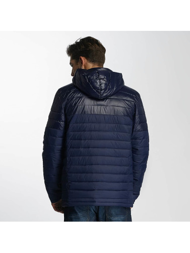 Paris Premium Herren Winterjacke Puffy in blau