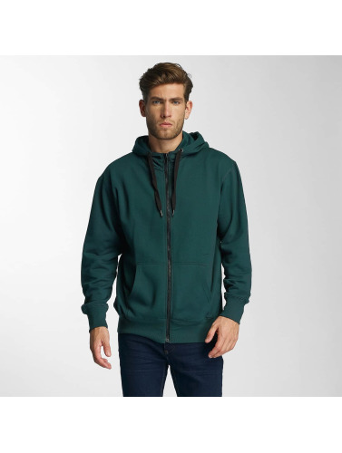 Paris Premium Herren Zip Hoodie Town House in grün