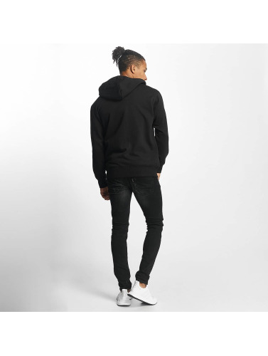 Paris Premium Herren Zip Hoodie Basic in schwarz