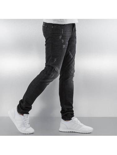 Pascucci Herren Skinny Jeans Daddy in schwarz