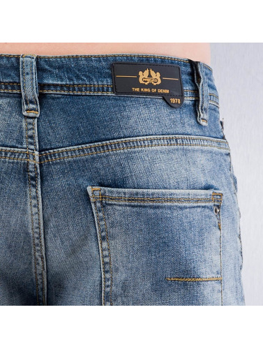Pascucci Herren Straight Fit Jeans Siggi in blau