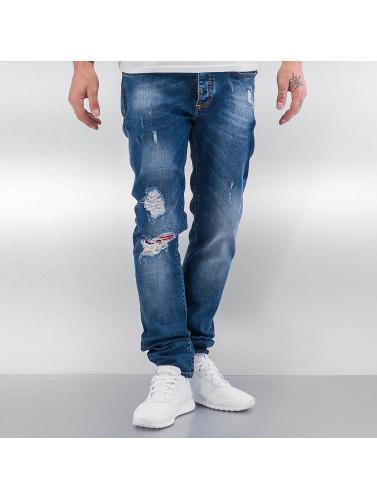 Pascucci Herren Straight Fit Jeans Suzi in blau