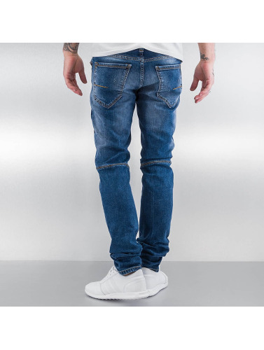 Pascucci Herren Straight Fit Jeans Suzi in blau