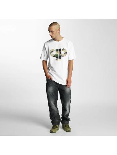 Combat in Camiseta Pelle Pelle Hombres Icon blanco Twq106x