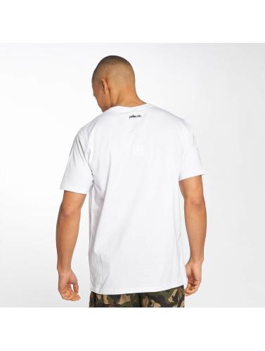 Pelle Pelle Hombres Camiseta 4 In A Row in blanco