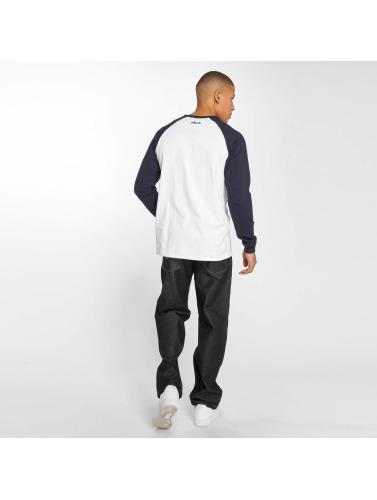 Pelle Pelle Hombres Camiseta de manga larga Core Ringer in azul