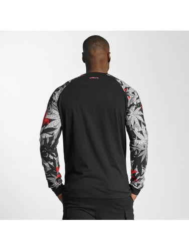 Pelle Pelle Hombres Camiseta de manga larga Highliner in negro