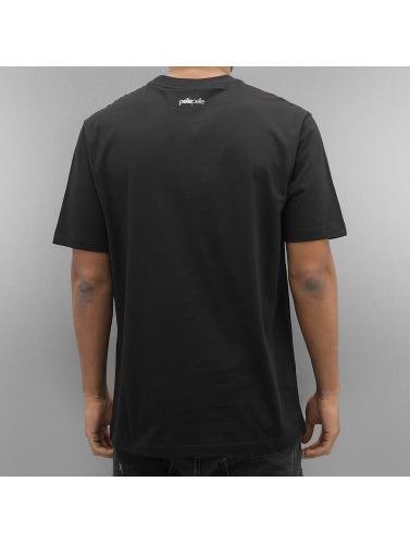 Pelle Pelle Hombres Camiseta Classic Arch in negro