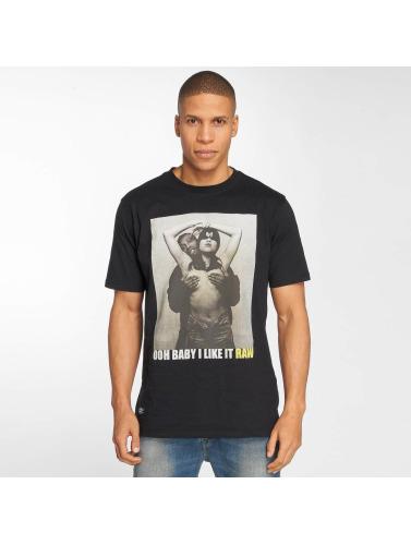 Pelle Pelle Hombres Camiseta Shimmy Shimmy in negro