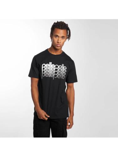 Lær Hombres Camiseta Fire På Rad I Svart billig online 9CsPoq7PM9
