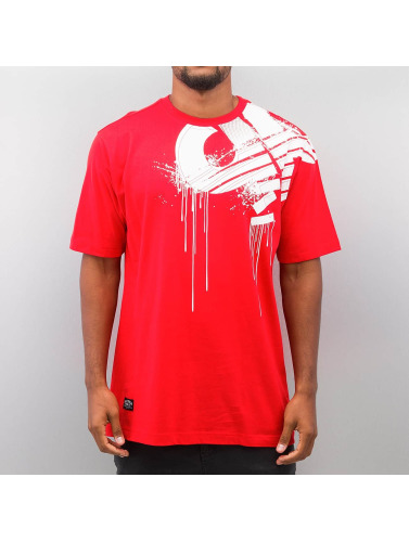 Pelle Pelle Hombres Camiseta Demolition in rojo