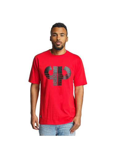 Pelle Pelle Hombres Camiseta Sayagata Icon in rojo