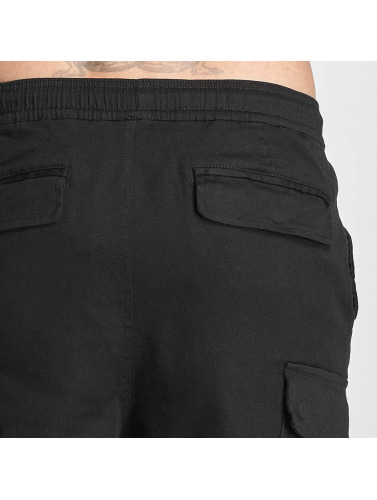 Pelle Pelle Herren Cargohose Core Jogger in schwarz