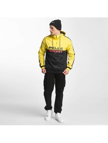 Pelle Pelle Hombres Chaqueta de entretiempo Vintage in amarillo