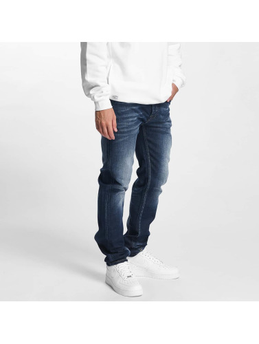 Pelle Pelle Hombres Jeans ajustado Floyd Denim in azul