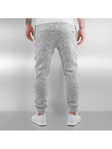 Pelle Pelle Herren Jogginghose Pleated in grau