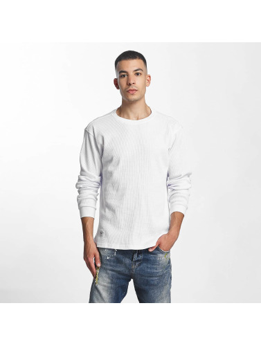 Pelle Pelle Herren Longsleeve Basic Thermal in weiß