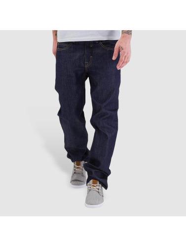 Pelle Pelle Herren Loose Fit Jeans Baxten Demin in indigo