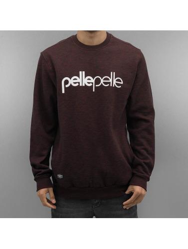 Pelle Pelle Herren Pullover Back 2 Basics in rot