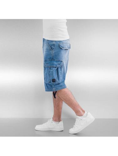Pelle Pelle Herren Shorts Denim in blau