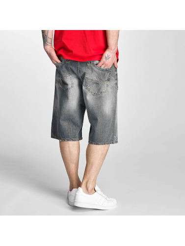 Pelle Pelle Herren Shorts Buster Baggy Denim in grau