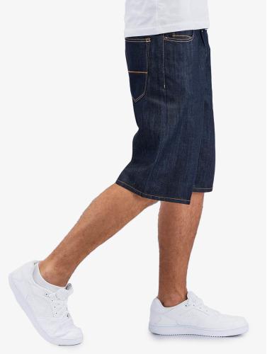 Pelle Pelle Herren Shorts Buster Baggy Denim in indigo