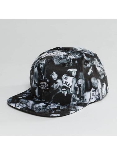 Pelle Pelle Snapback Cap G.B.N.F. in schwarz