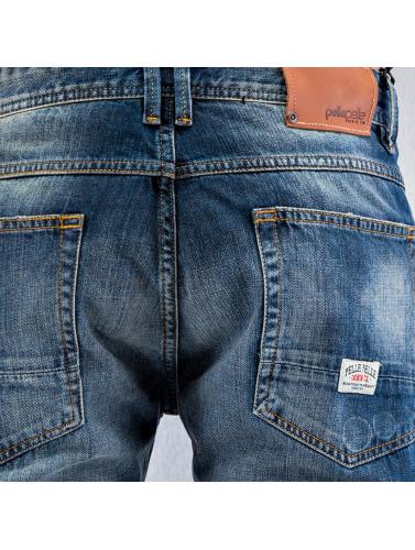 Pelle Pelle Herren Straight Fit Jeans F.U. Floyd in indigo