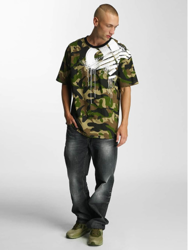Pelle Pelle Herren T-Shirt Demolition in camouflage